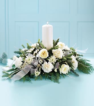 Wintergarden Candle Centerpiece