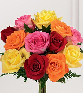 Mixed Rose Bouquet by O'Connor Florist