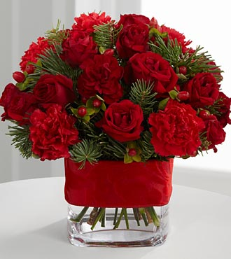 Spirit of the Season Floral Bouquet