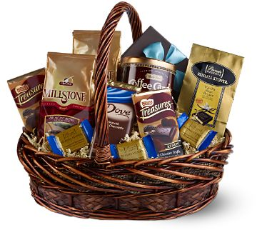 Holiday Chocolate & Coffee Basket