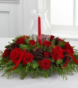 Winter Wonders Holiday Centerpiece