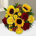 Mixed Fall Flower Bouquet