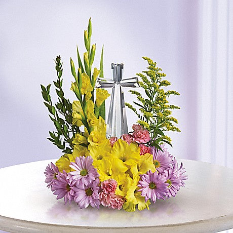 Telefloras Crystal Cross Bouquet