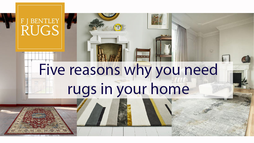 Five Reasons why you need rugs in your home