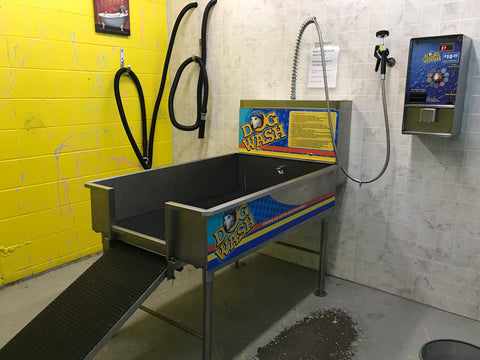 Self serve dog wash little bit western feed supplies little we are pleased to provide you with a self serve coin operated dog wash station you will enjoy washing your pooch in this tub it features a built in ramp solutioingenieria Image collections