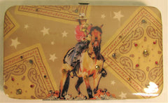 Nocona Cowgirl on Horse Wallet