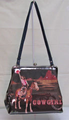 This Nocona Cowgirl and Landscape Purse