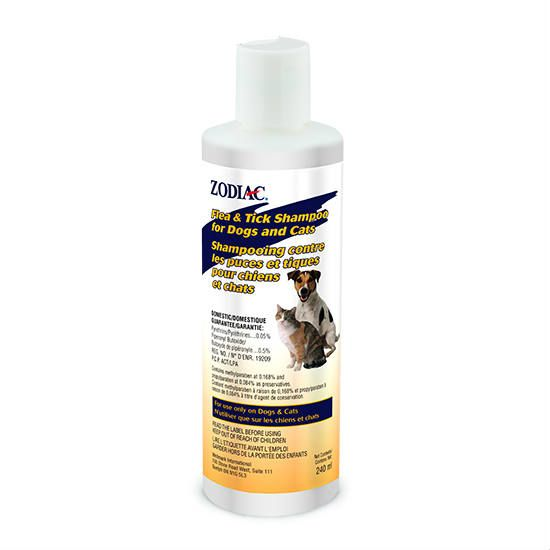 Flea and Tick Shampoo for Dogs and Cats