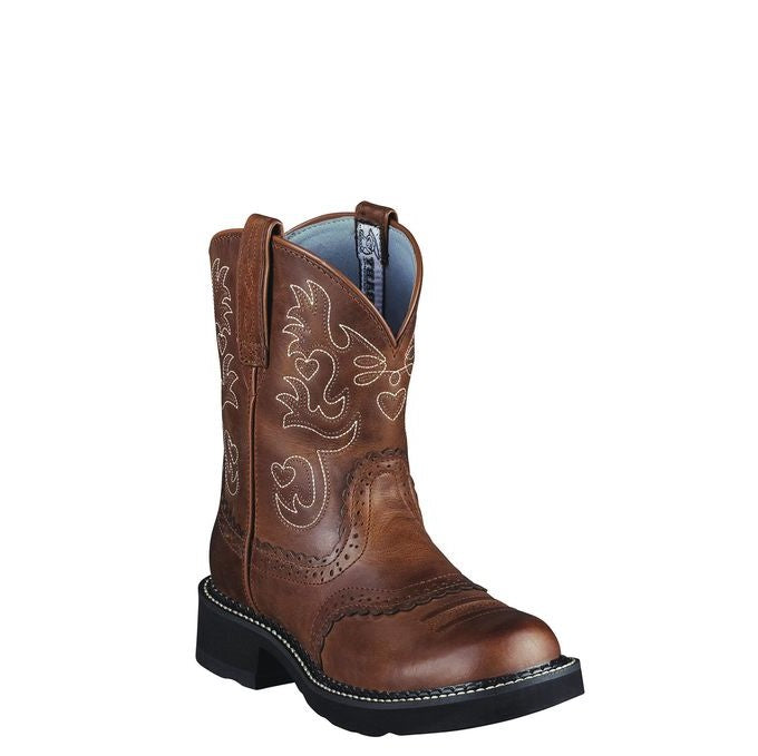 Women's Fatbaby Saddle Western Boot - Russet Rebel