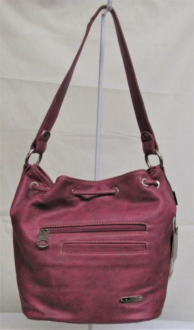 Montana West Concho Collection Hobo Bag - Hot Pink