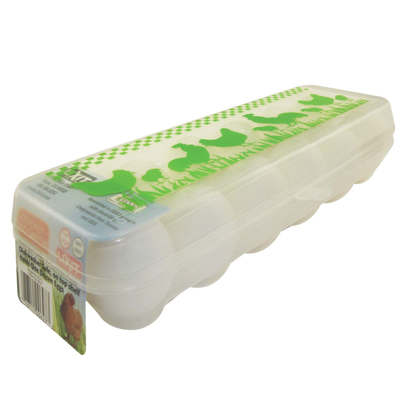 Lixit - Reusable Plastic Egg Carton