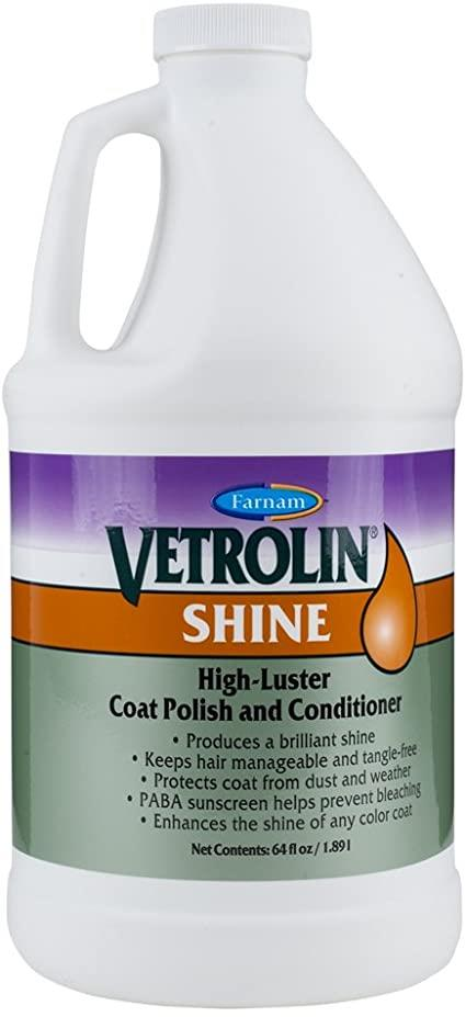 Vetrolin Shine High-Luster Coat Polish and Conditioner