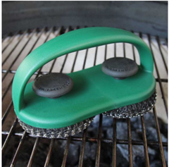 Stainless Steel Grill and Pizza Stone Dual Scrubber