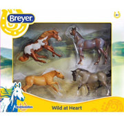 Stablemates Wild at Heart 4 - Horse Set