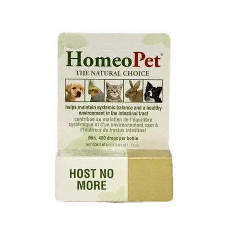 HomeoPet Host No More Probiotic