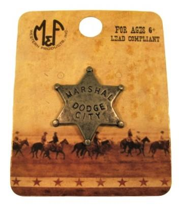 Dodge City Marshal Pin