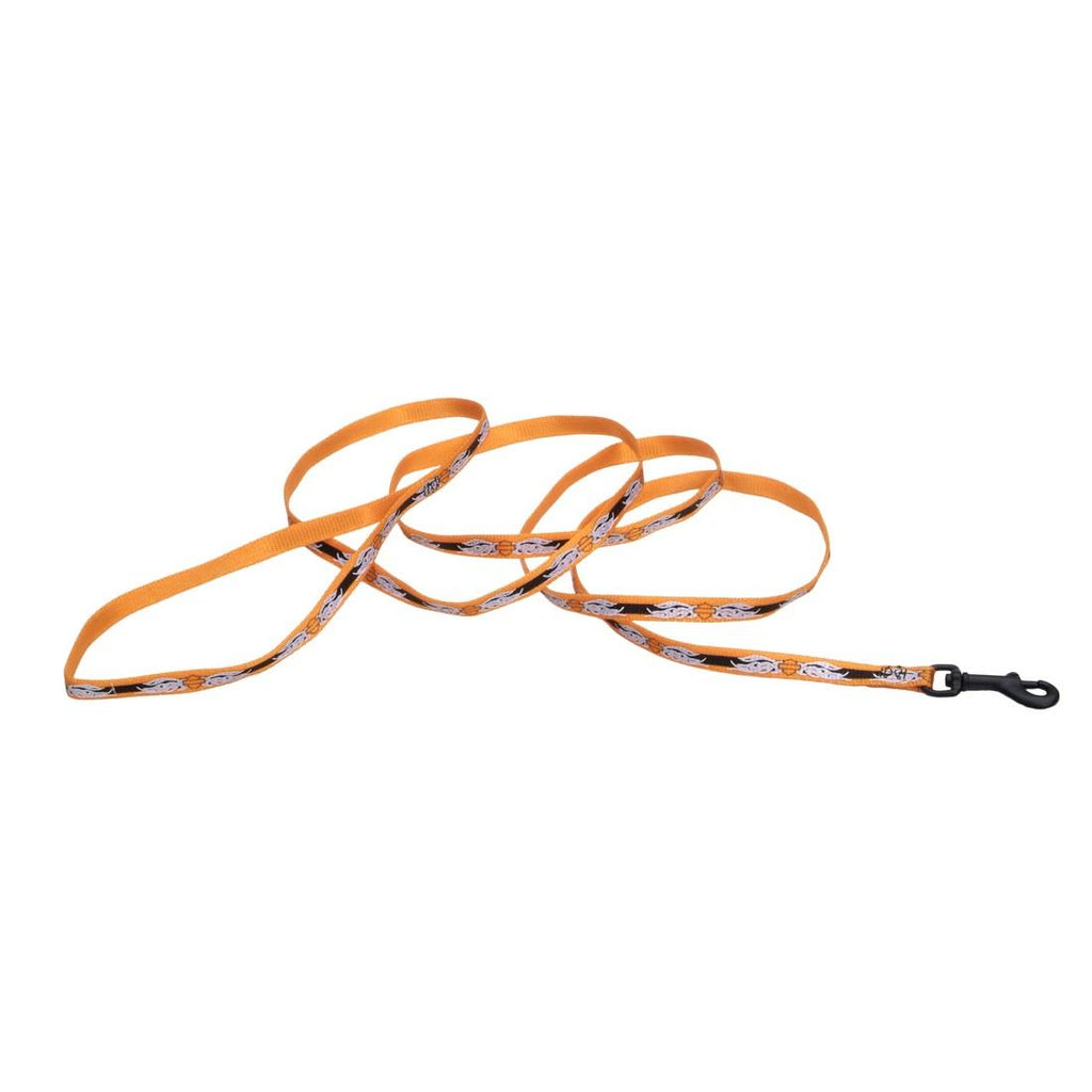 Harley-Davidson Tribal Flames Leash - 3/8' Wide