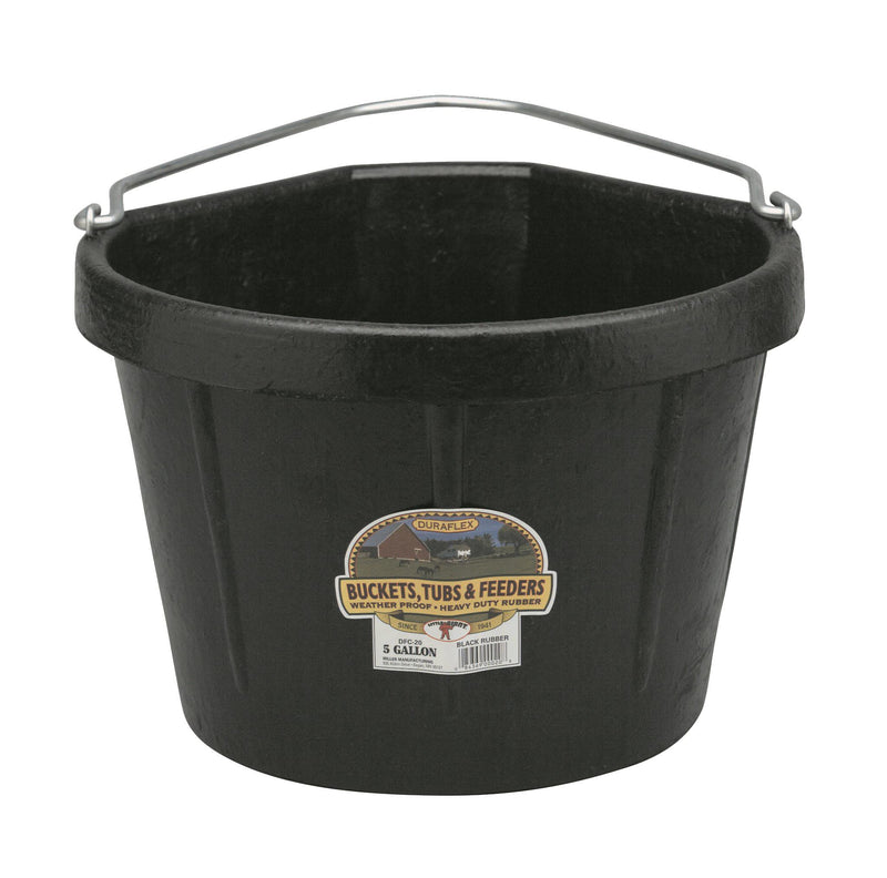 5 Gallon Rubber Corner Bucket