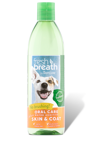 Oral Care Water Additive +Skin & Coat