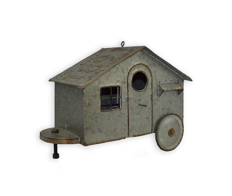 License Plate/Trailer Bird House