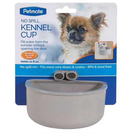 PETMATE No Spill Kennel Cup