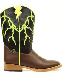 Boys' Ace Lightning Bolt Boots