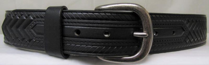 Men's Black Woven Belt