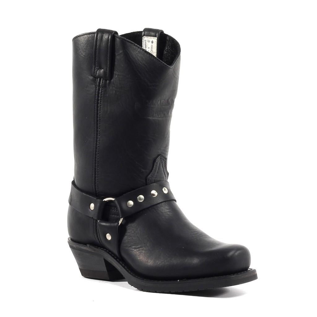 Ladies Canada West Biker Boots - 7629
