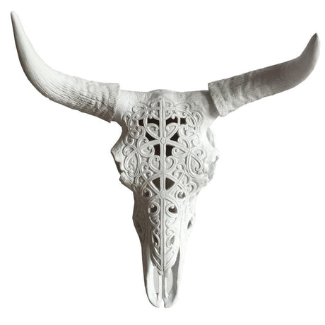 Horn with Cow Skeleton Head