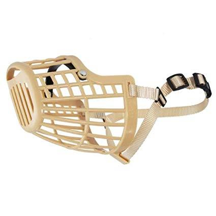 Flexible Plastic Dog Basket Muzzle