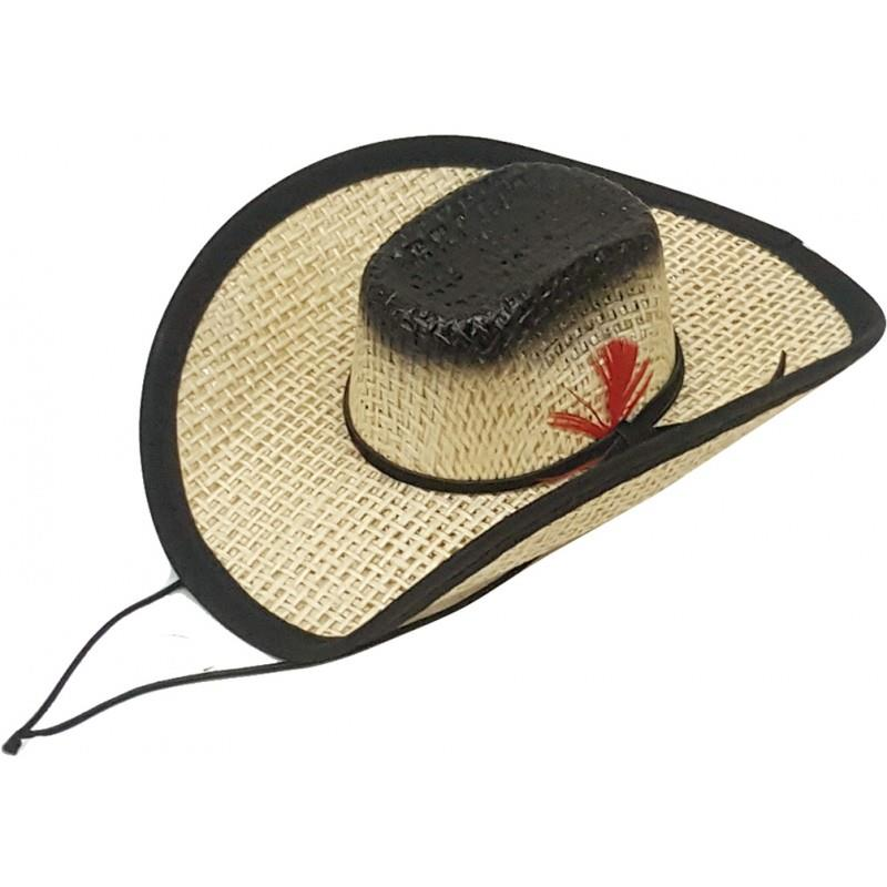 Modestone Straw Pet Cowboy Hat
