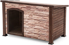 Precision Pet Products Extreme Outback Woodstone Dog House - Medium