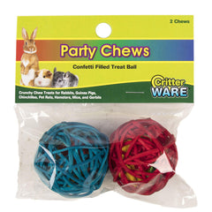 Party Chews - Confetti Filled Treat Ball