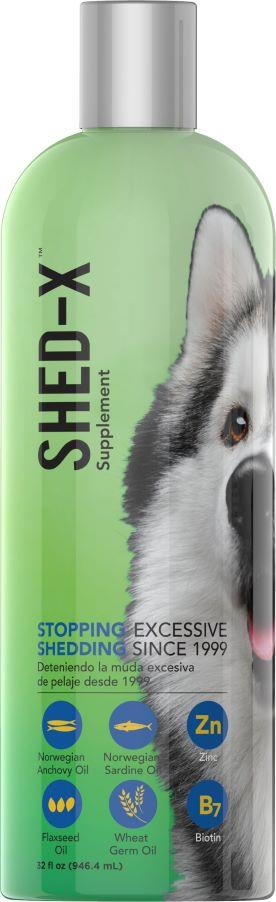 Shed-X Dermaplex Liquid Daily Supplement for Dogs