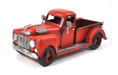 Antique Red Pickup Truck