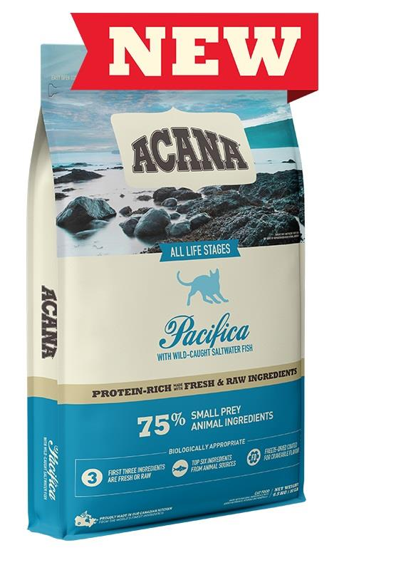 Acana Pacifica - Dry Cat Food - 1.8 & 4.5 KG Bags