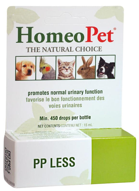 HomeoPet - PP Less - Promotes Normal Urinary Function