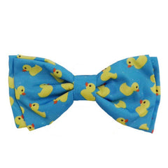Huxley & Kent - Bow Tie - Lucky Ducky - Clips Onto Collar - Small, Large, X-Large