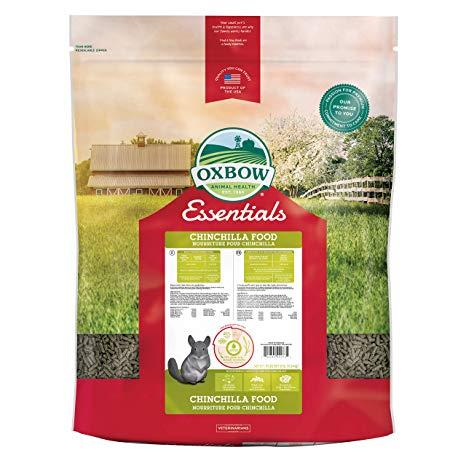 Oxbow Essentials Adult Chinchilla Food - 20lbs
