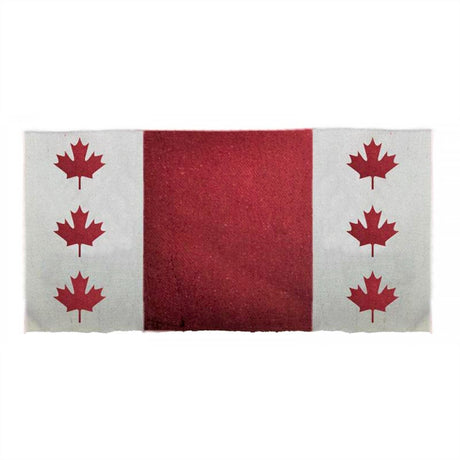 Sierra Canadian Flag Saddle Blanket