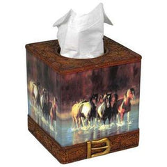 Rush Hour Tissue Box Cover