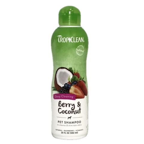 Tropiclean Berry & Coconut Dog Shampoo