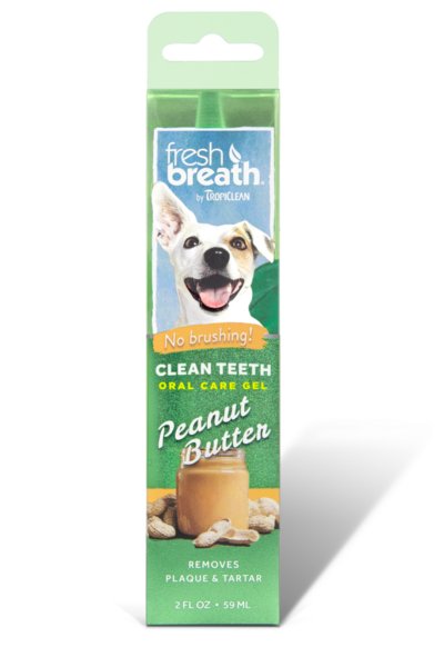 Oral Care Gel for Dogs - Peanut Butter