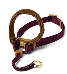 Padded Dog Halter - Sm Maroon