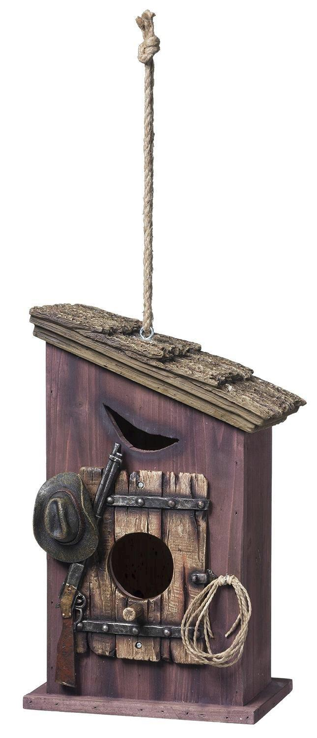 Western Outhouse Birdhouse