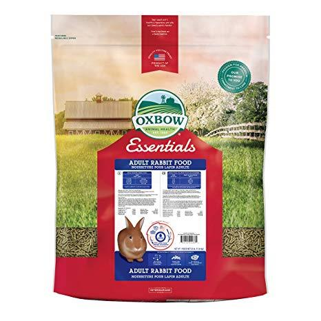 Oxbow Essentials Adult Rabbit Food - 25lbs
