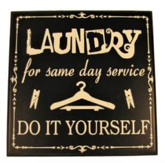 Laundry Signs (3 pieces)