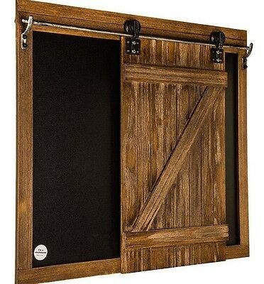 Large Sliding Chalkboard Barn Door