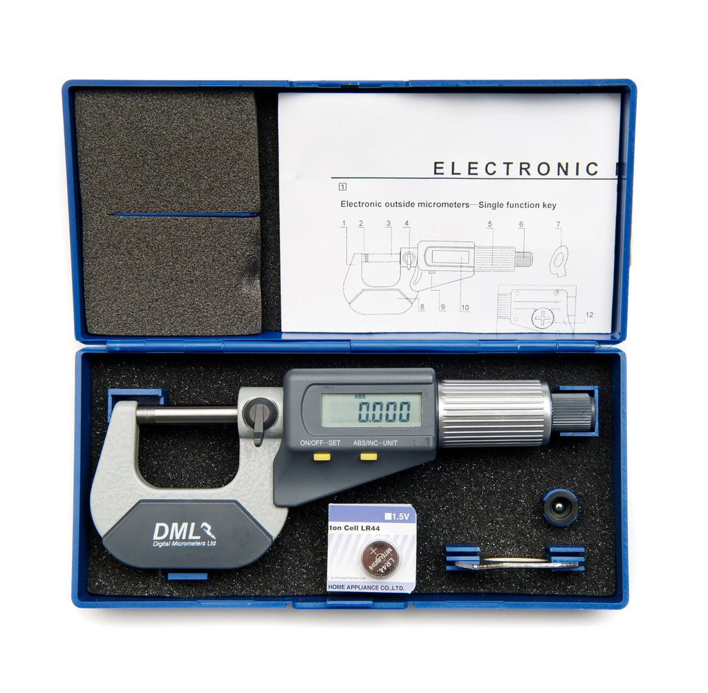 0-25mm IP54 Digital Micrometer DM3025Micrometers