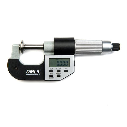 DML 0-25mm Disc Micrometer DM4025PAD